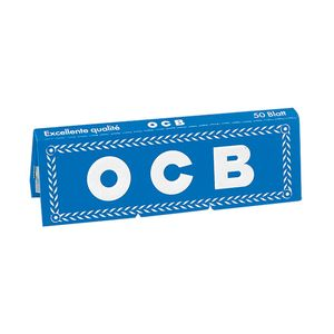 Ocb μπλέ χαρτάκια