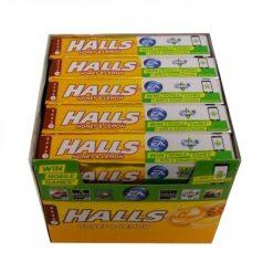 Halls μέλι λεμόνι 33.5gr καραμέλες