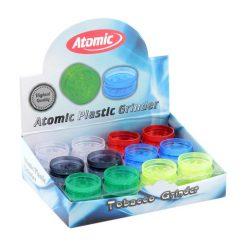 Atomic Πλαστικός Mini Τρίφτης Καπνού-Grinder