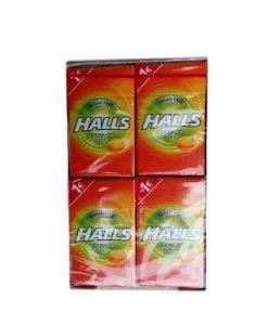 Halls Vita-c Assorted Κουτί Καραμέλες 27.5gr