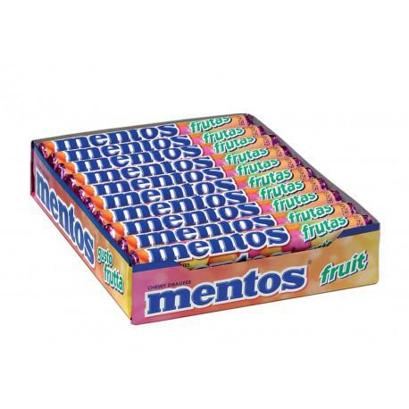 Mentos Φρούτο Καραμέλες 37.5gr