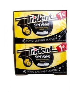 Trident Senses Λεμόνι Τσίχλες 24.5gr