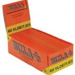 Rizla πορτοκαλί 60 φύλλα χαρτάκια συσκευασία