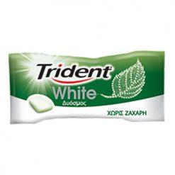 Trident White Mini Δυόσμος Τσίχλες 2.8gr