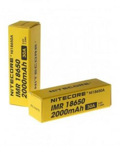 Μπαταρίες Ηλεκτρονικού Τσιγάρου Nitecore
