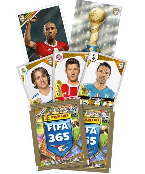 Panini Fifa 365 Αυτοκόλλητα