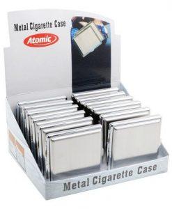 Atomic Ταμπακιέρα Τσιγάρου Steel Metal
