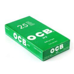 Ocb Πράσινα Χαρτάκια (Συσκευασία 25 Τεμαχίων)