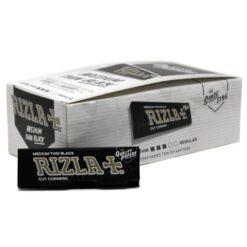 Rizla Μαύρα Χαρτάκια (Συσκευασία 50 Τεμαχίων)