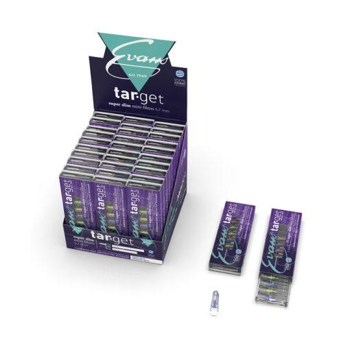 Evans Target Super Slim 5.5mm Πιπάκια Τσιγάρου