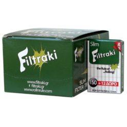 Filtraki Maxi Slim 6mm 150 + 12 Δώρο Φιλτράκια
