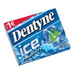 Dentyne Ice Μέντα Τσίχλες 17.2gr (Τεμάχιο)
