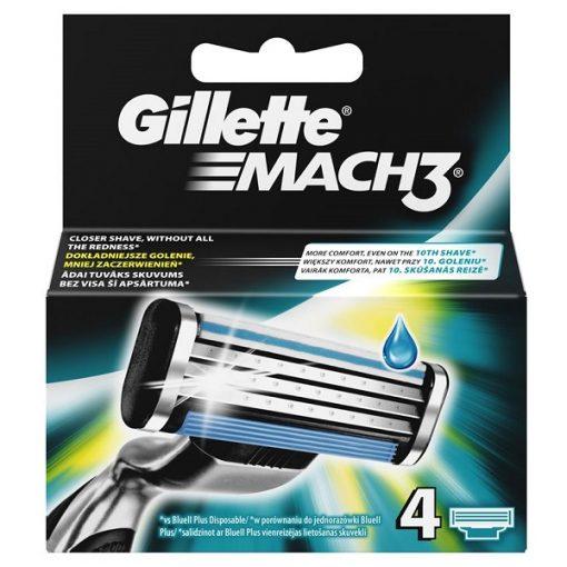Gillette Mach 3 Ξυραφάκια 4 Τμχ