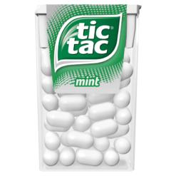 Tic Tac Μέντα Καραμέλες 18gr (Τεμάχιο)