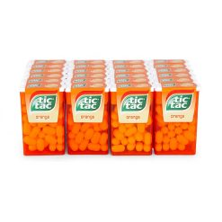 Tic Tac Πορτοκάλι Καραμέλες 18gr (Συσκευασία 24 Τεμαχίων)