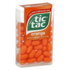 Tic Tac Πορτοκάλι Καραμέλες 18gr (Τεμάχιο)