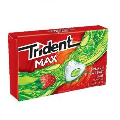 Trident Max Φράουλα Λεμόνι Τσίχλες 22gr
