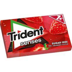 Trident Senses Φράουλα Τσίχλες 27gr