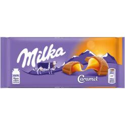 Milka Caramel Σοκολάτα 100gr (Τεμάχιο)