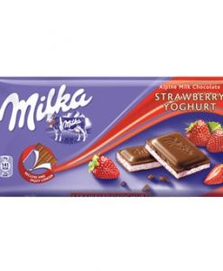 Milka Strawberry Yogurt 100gr σοκολάτες