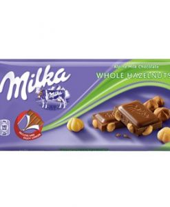 Milka Whole Hazelnuts 100gr σοκολάτες
