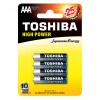 Toshiba AAA Αλκαλικές Μπαταρίες 4 Τμχ