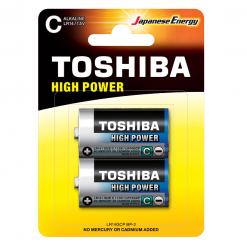 Toshiba C High Power Αλκαλικές Μπαταρίες 2 Τμχ