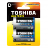 Toshiba D Αλκαλικές Μπαταρίες 2 Τμχ