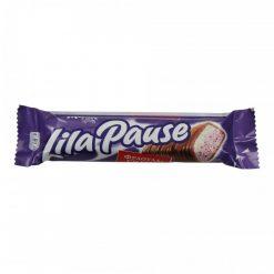 Milka Lila Pause Φράουλα Σοκολάτα 34gr