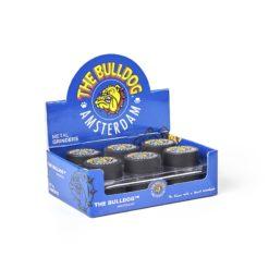 Τρίφτης Καπνού Μεταλλικός 45mm 3 Θέσεων Μαύρος The Bulldog (Συσκευασία)