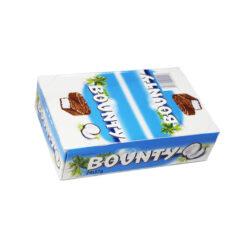 Bounty Σοκολάτα 57gr (Συσκευασία 24 Τεμαχίων)