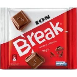 Ιον Break Γάλακτος Σοκολάτα 85gr