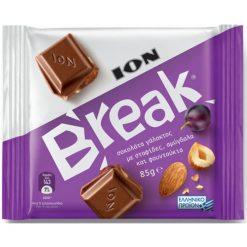 Ιον Break Σταφίδες & Ξηροί Καρποί Σοκολάτα 85gr