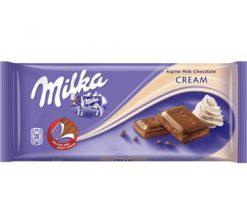 Milka Cream 100gr σοκολάτες