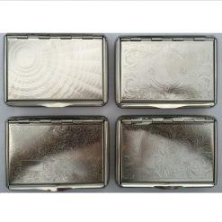 Atomic Ταμπακιέρα Καπνού Μεταλλική Silver