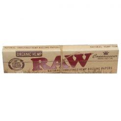 Raw Αλεύκαντα Slim King Size Με Τζιβάνες Χαρτάκια