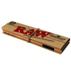 Raw Κλασικά Slim King Size Με Τζιβάνες Χαρτάκια