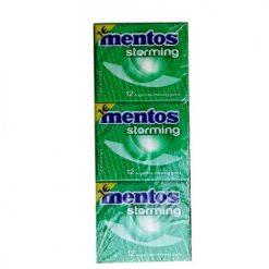 Mentos Storming Δυόσμος Τσίχλες 33gr
