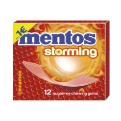 Mentos Storming Κανέλα Τσίχλες 33gr (Τεμάχιο)