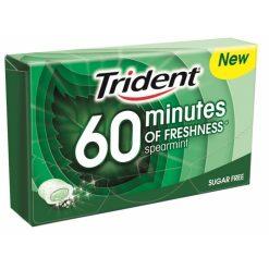 Trident 60 Minutes Δυόσμος Τσίχλες 20gr