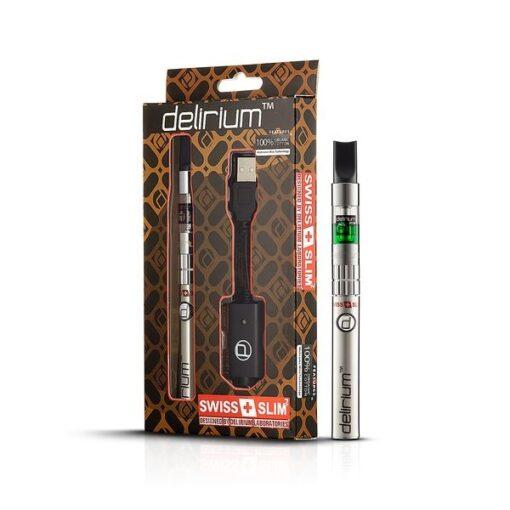 Delirium Swiss V2 Ηλεκτρονικό Τσιγάρο (Ασημί)