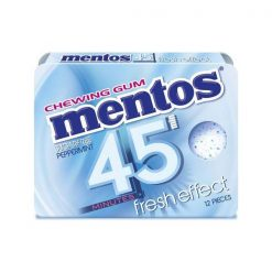 Mentos 45` Μέντα Τσίχλες 18gr