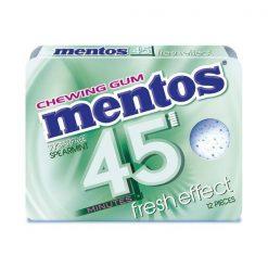 Mentos 45` Δυόσμος Τσίχλες 18gr