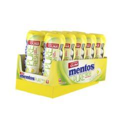 Mentos Pure Fresh Λεμόνι Μπουκάλι Τσίχλες 28gr (Συσκευασία)