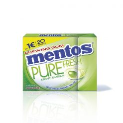 Mentos Pure Fresh Λεμόνι Τσίχλες 30gr
