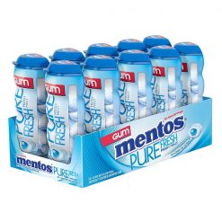 Mentos Pure Fresh Μέντα Μπουκάλι Τσίχλες