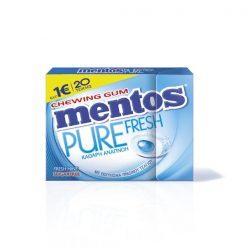 Mentos Pure Fresh Μέντα Τσίχλες 30gr