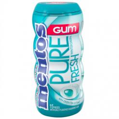 Mentos Pure Fresh Wintergreen Μπουκάλι Τσίχλες
