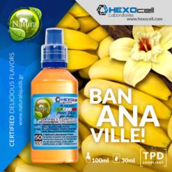 Natura Bananaville 30-100ml (Mix & Shake)