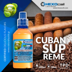 Natura Cuban Supreme 30-100ml (Mix & Shake)